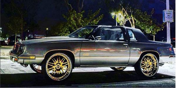 Cutlass On 30 Inch Rims : Asanti wheels af california