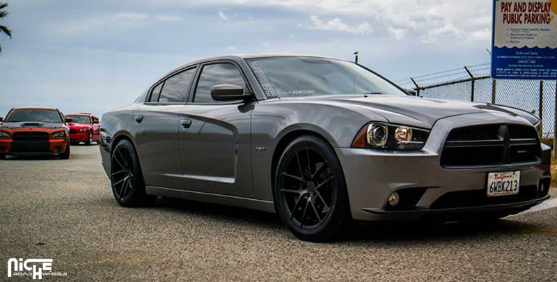 Car | Dodge Charger on Niche Sport Series Targa - M130 Wheels ...
