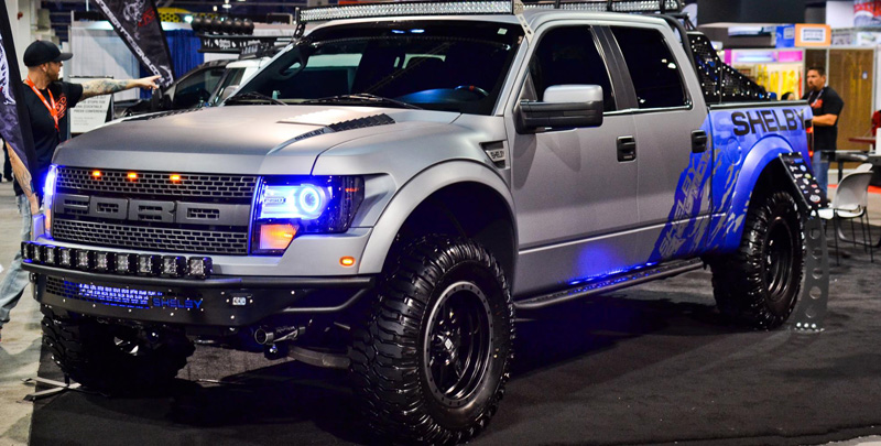 Ford Shelby Truck >> Car | Ford F-150 Raptor on Fuel 1-Piece Trophy - D551 ...