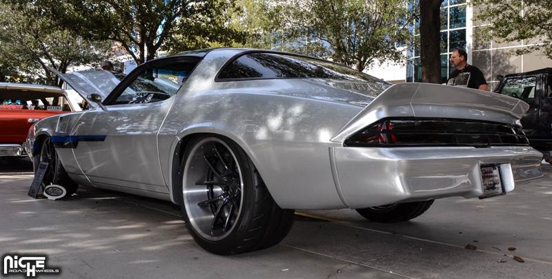 Car Chevrolet Camaro On Niche Forged Targa Wheels