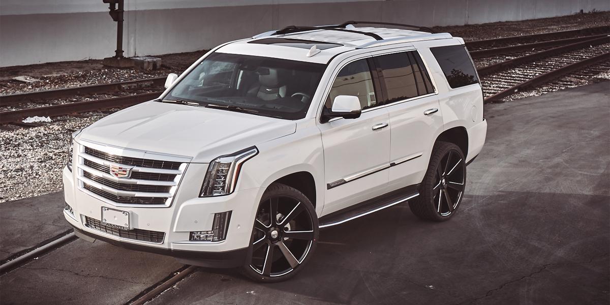 Car | Cadillac Escalade on Asanti Black Label ABL-15 Wheels ...