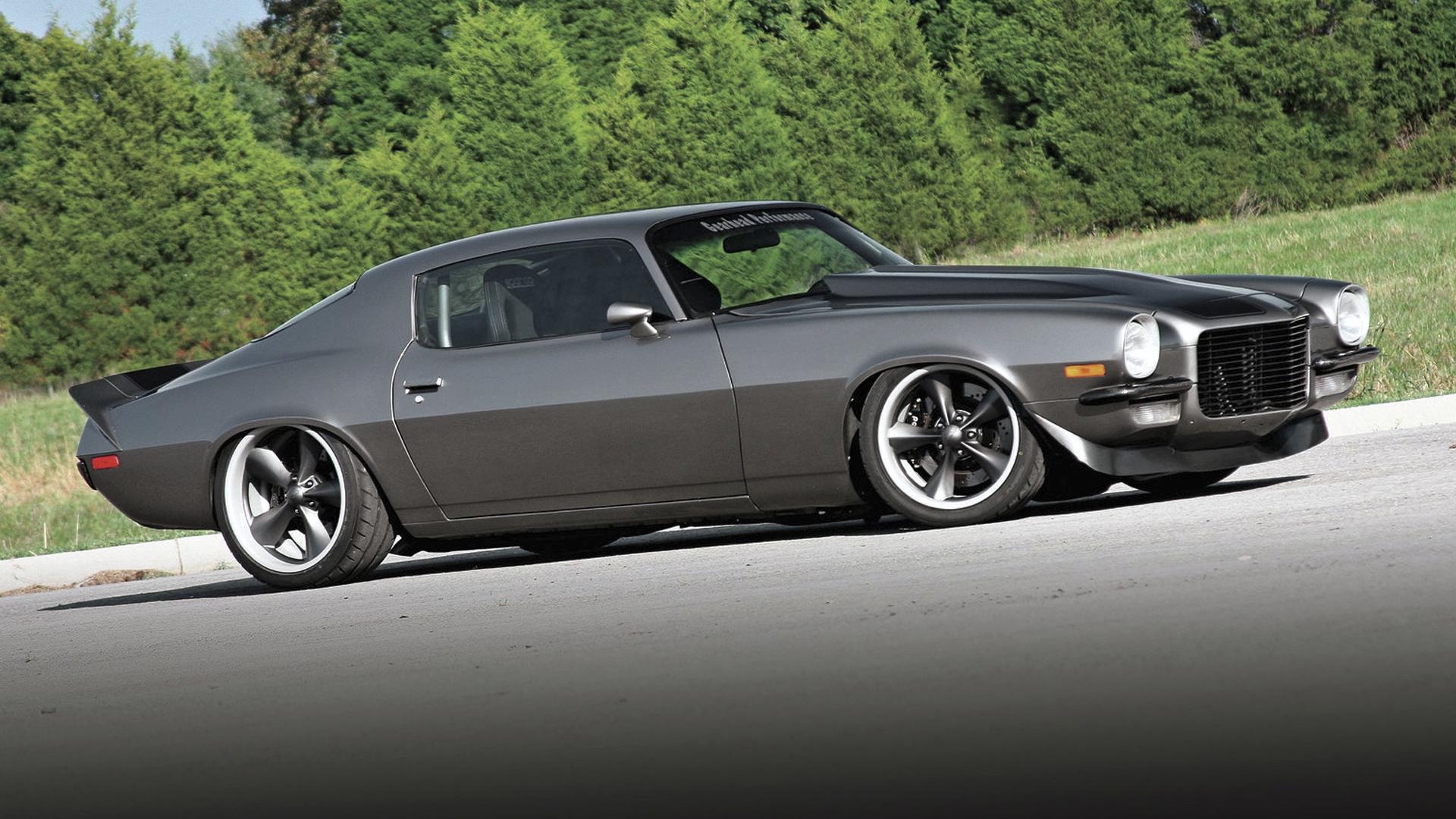Car | Chevrolet Camaro on Boyd Coddington Junkyard Dog Wheels ...