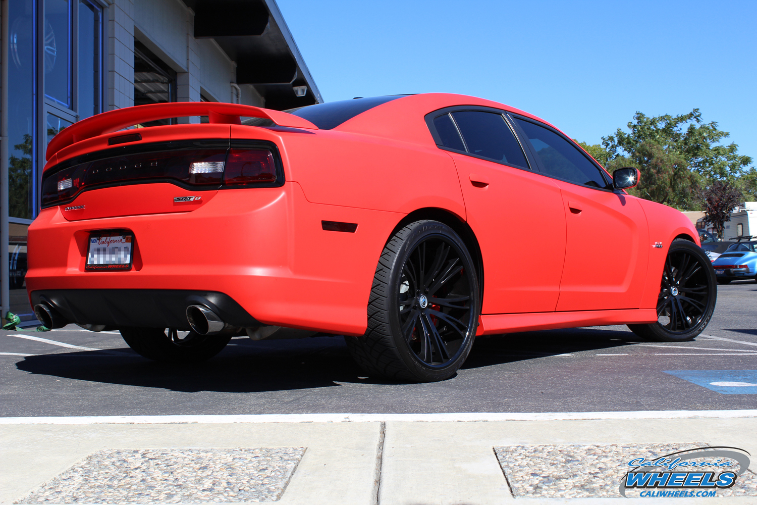 Car Dodge Charger On Asanti Forged Cx502 Wheels