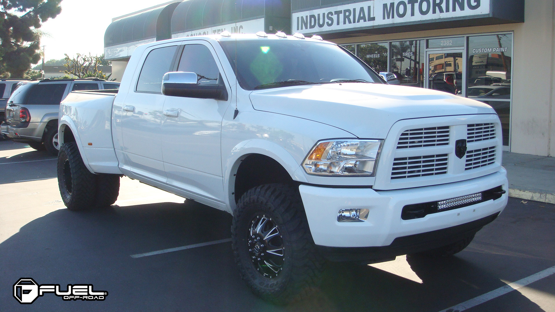 Fuel Dually Wheels Throttle Dually Front - D213 Wheels ...