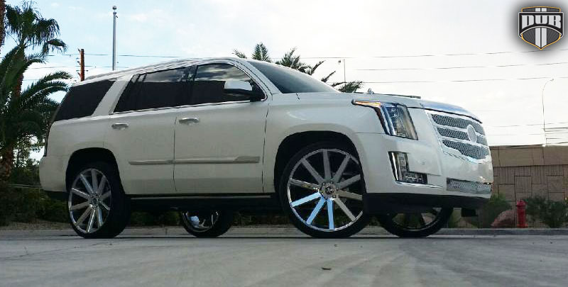 Car Cadillac Escalade On Dub 1 Piece Shot Calla S120