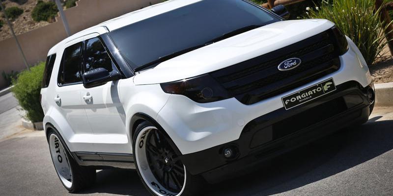 San Jose BMW >> Car   Ford Explorer on Forgiato SEDICI Wheels   California ...