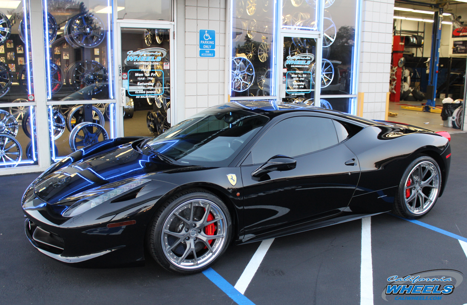 Fuel Wheels 20x9 >> Car | Ferrari 458 on HRE S101 Wheels | California Wheels