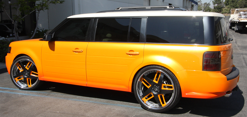 Car Ford Flex On Forgiato Veccio Wheels California Wheels