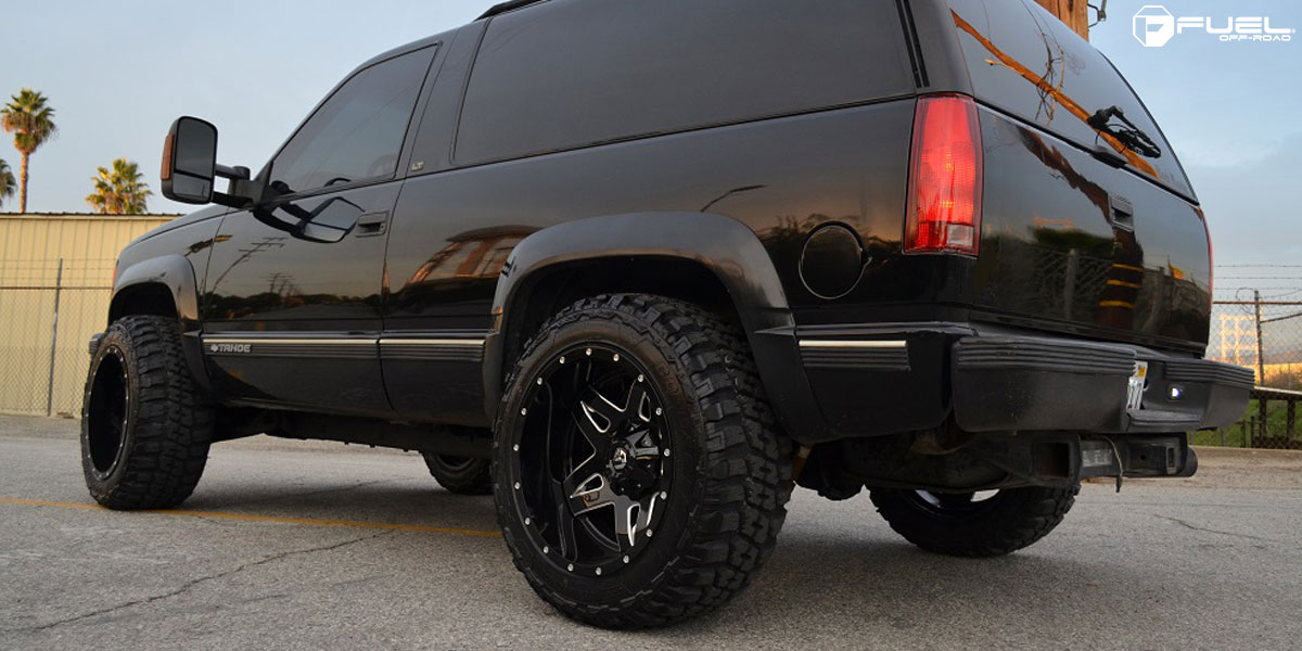 Car Chevrolet Tahoe On Fuel Deep Lip Full Blown D554