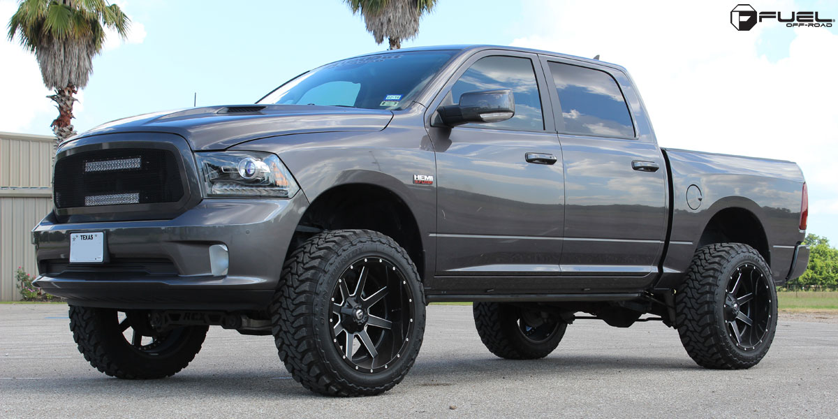 Car | Dodge Ram 1500 on Fuel 2-Piece Maverick - D262 Wheels ...