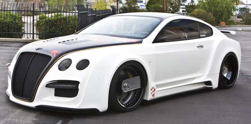 Car Bentley Continental Gt On Forgiato Parlaro Wheels