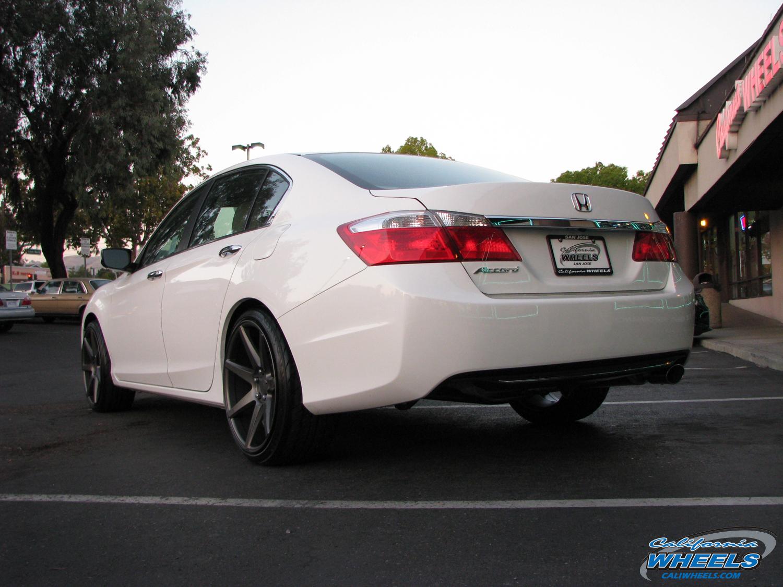 San Jose Bmw >> Car | Honda Accord on Vossen CV7 Wheels | California Wheels
