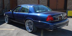 Car Mercury Marauder On Vellano Vsw Wheels California Wheels