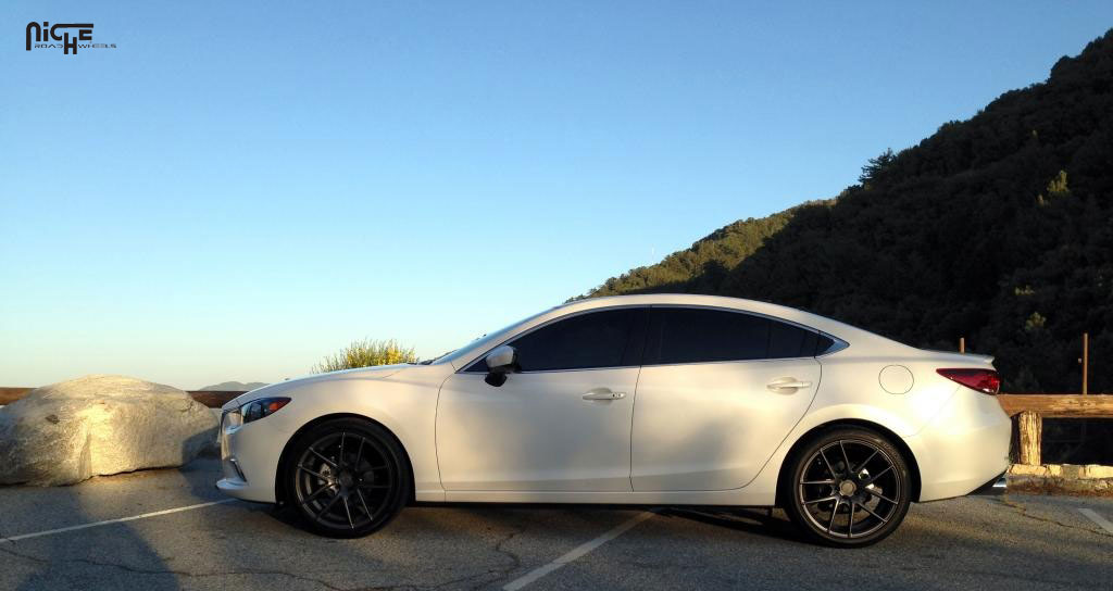 Car | Mazda 6 On Niche Sport Series Targa   M129 Wheels | California Wheels