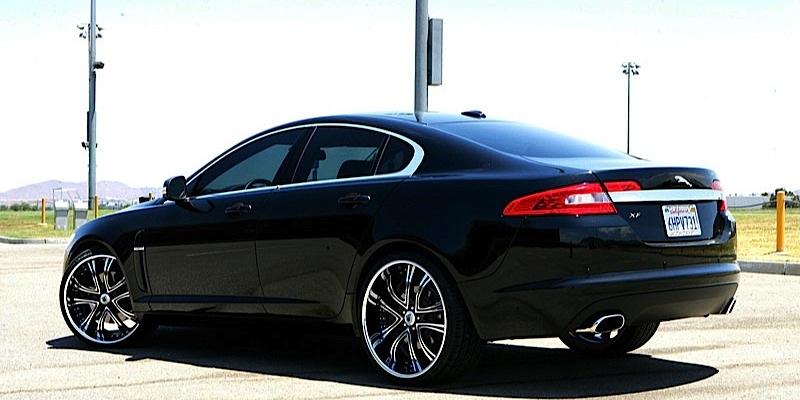 Attractive Jaguar XF On Asanti DA159 Wheels. RETURN TO GALLERY U003eu003e
