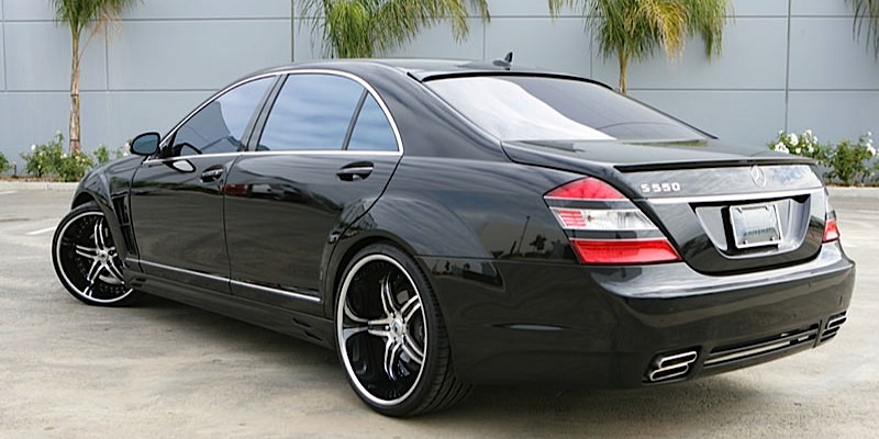 Car mercedes benz s550 on asanti af144 wheels for 2010 mercedes benz s550