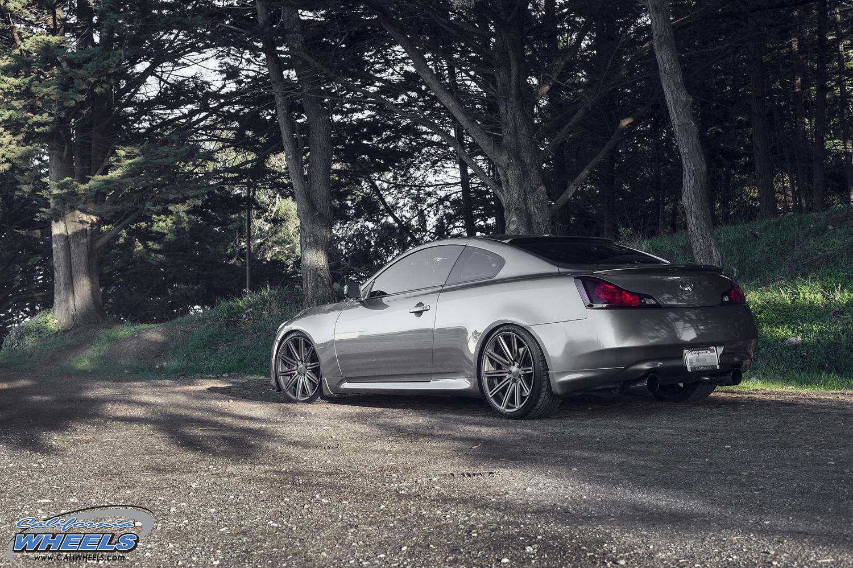 Infiniti 2018 G37 >> Car | Infiniti G37 on Vossen CV4 Wheels | California Wheels