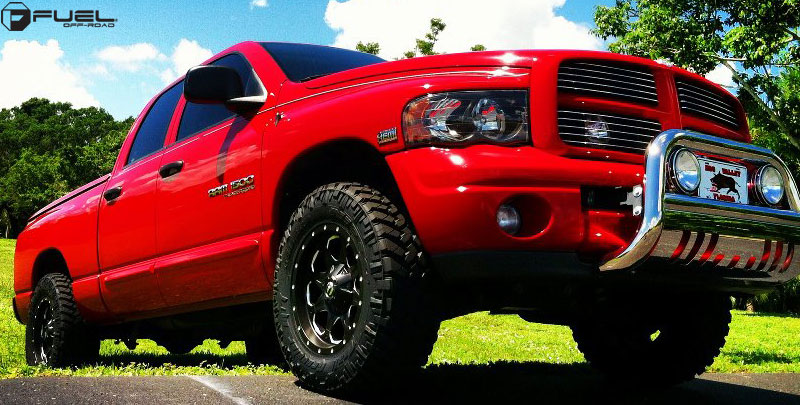 Car | Dodge Ram 1500 on Fuel 1-Piece Boost - D534 Wheels ...