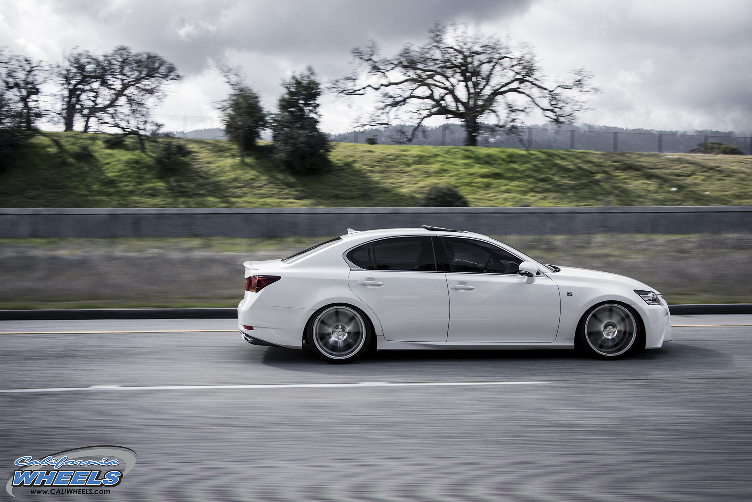 car lexus gs 350 on vossen cv7 wheels california wheels. Black Bedroom Furniture Sets. Home Design Ideas