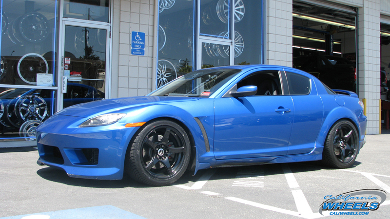 Top Tire Brands >> Car | Mazda RX-8 on Wheels | California Wheels