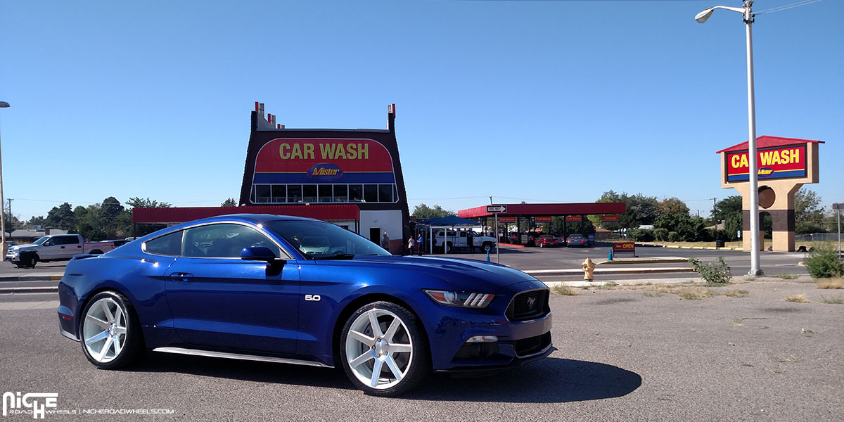 Car Ford Mustang On Niche Sport Series Verona M151