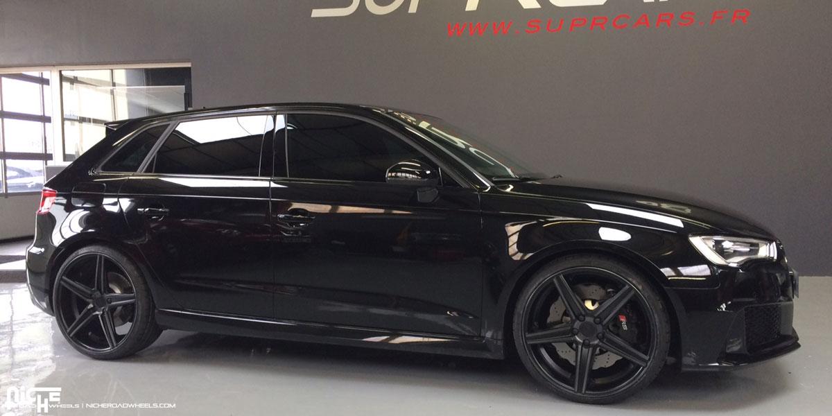 Car | Audi A3 on Niche Sport Series Apex - M126 Wheels | California
