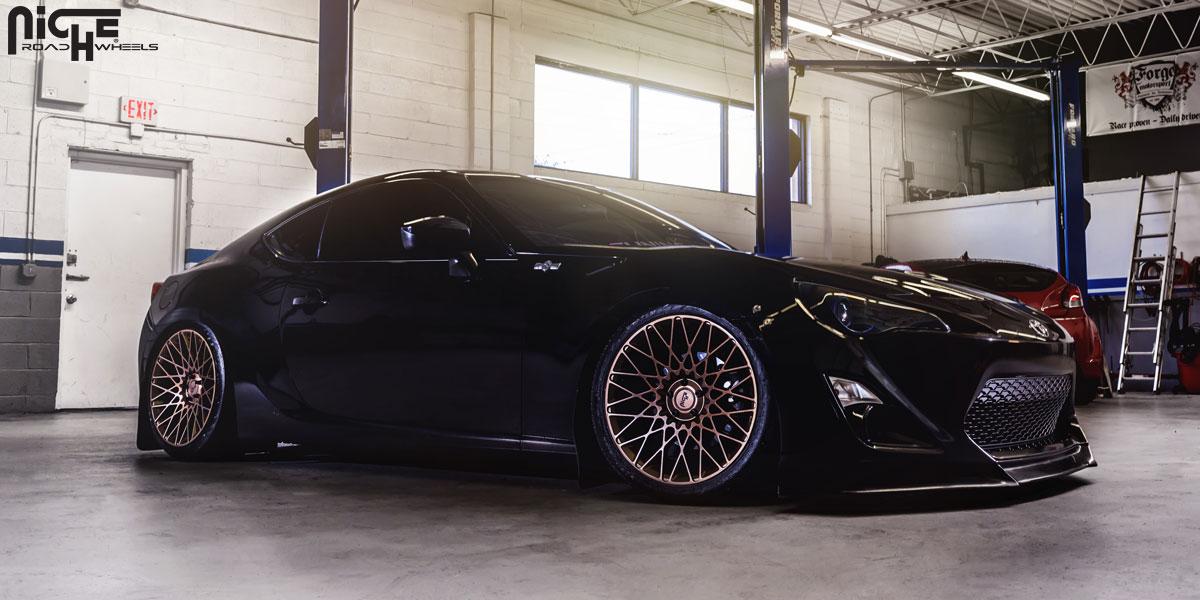 Car | Scion FR-S on Niche Sport Series Citrine - M155 Wheels ...