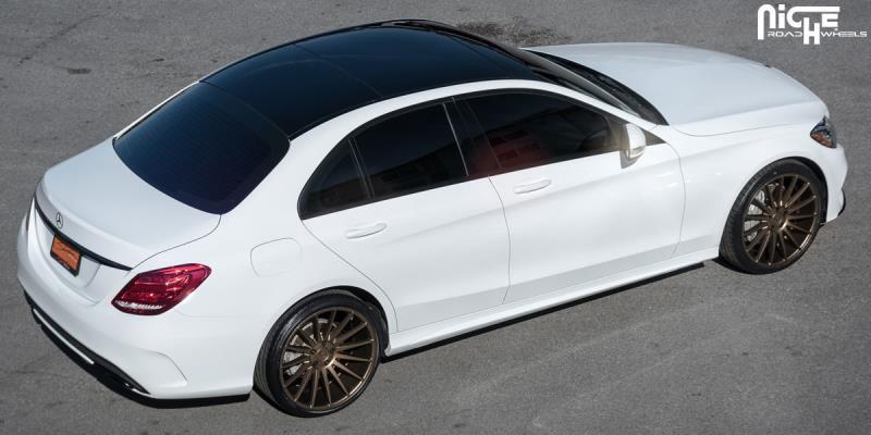Car mercedes benz c300 on niche sport series form m158 for 2015 mercedes benz c300 tire size