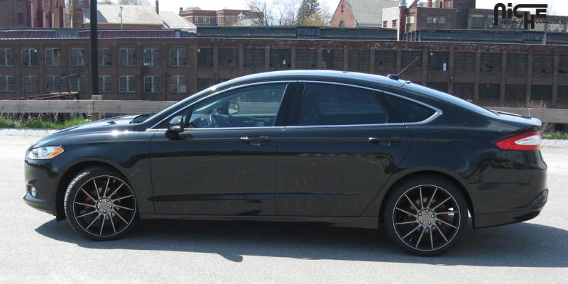 2014 Ford Fusion Black Rims >> Car | Ford Fusion on Niche Sport Series Surge - M114 Wheels | California Wheels