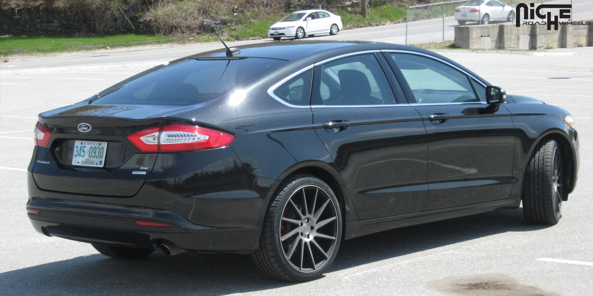 2014 Ford Fusion Tire Size >> Car Ford Fusion On Niche Sport Series Surge M114 Wheels