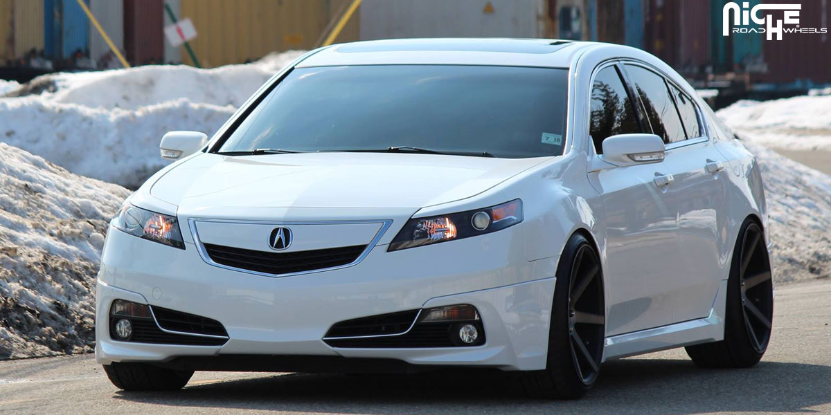 car acura tl on niche sport series verona m150 wheels