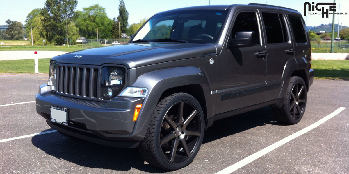 Car Jeep Liberty On Niche Sport Series Verona M150