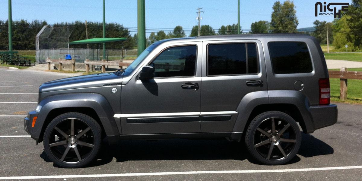 Car | Jeep Liberty on Niche Sport Series Verona - M150 ...