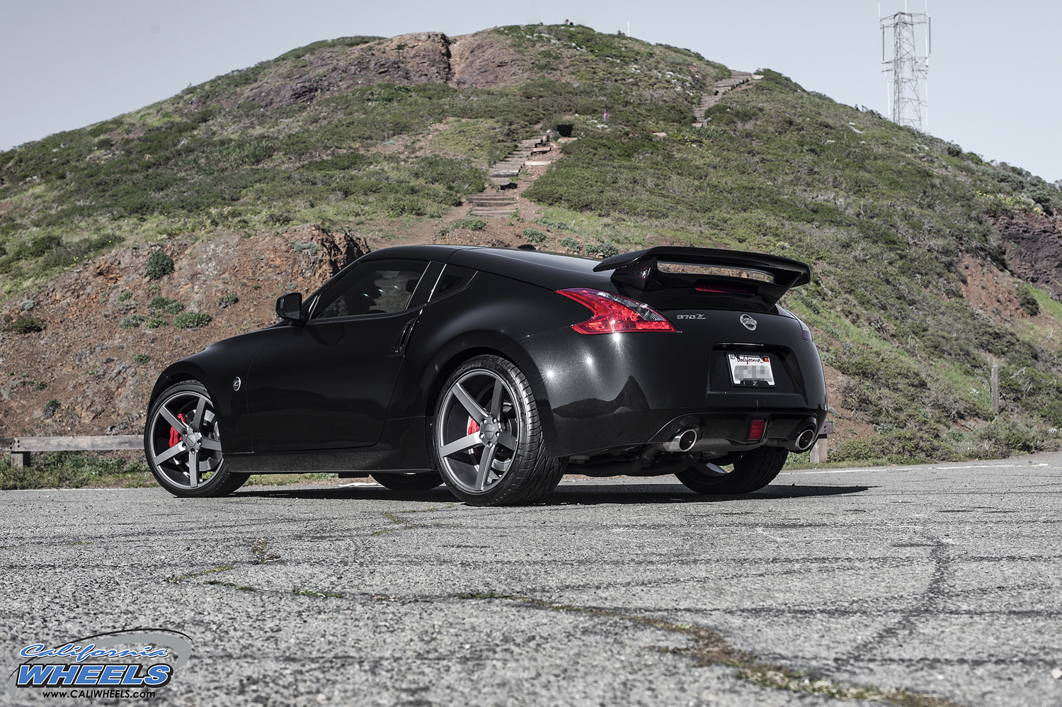 Car Nissan 370z On Vossen Cv3 Wheels California Wheels