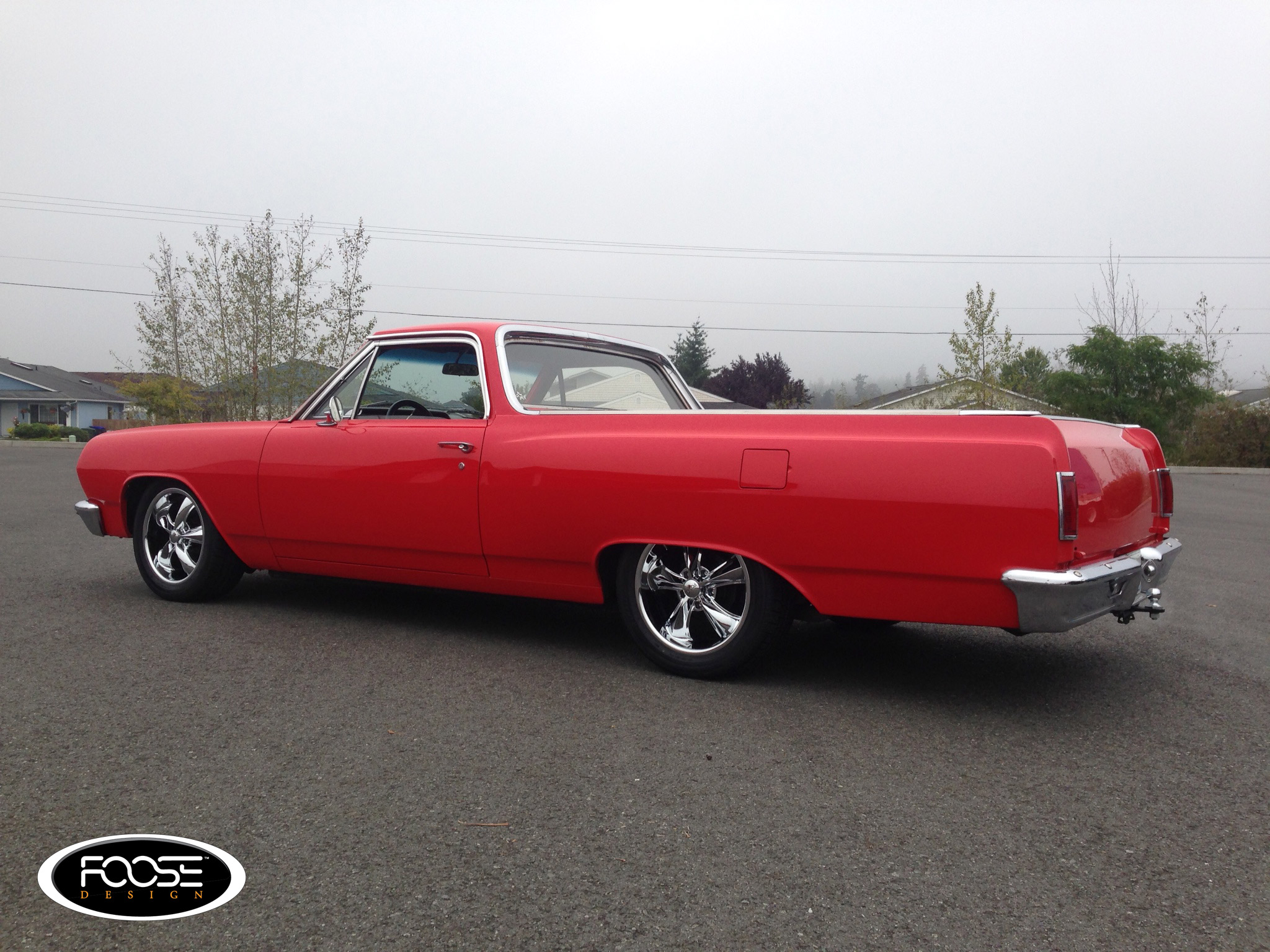 Chevrolet El Camino on Foose Legend - F105 Wheels