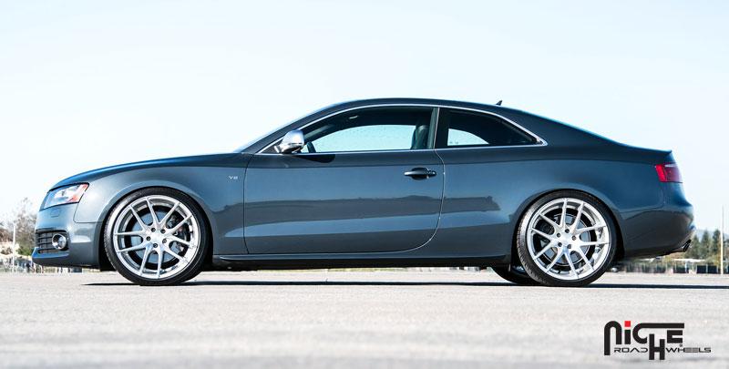 Car Audi S5 On Niche Sport Series Targa M131 Wheels