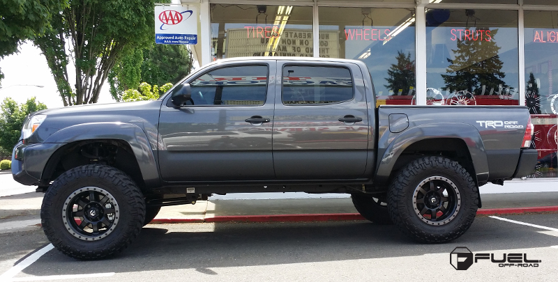 Car Toyota Tacoma On Fuel 1 Piece Trophy D551 Wheels