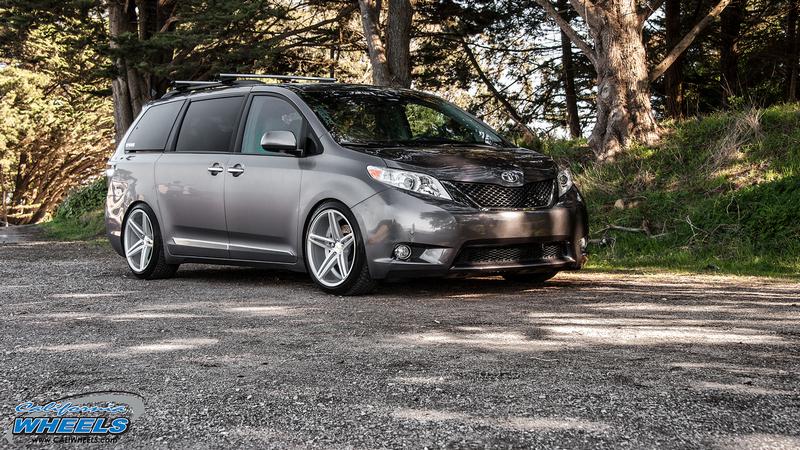 Lexus San Jose >> Car | Toyota Sienna on Vossen CV5 Wheels | California Wheels