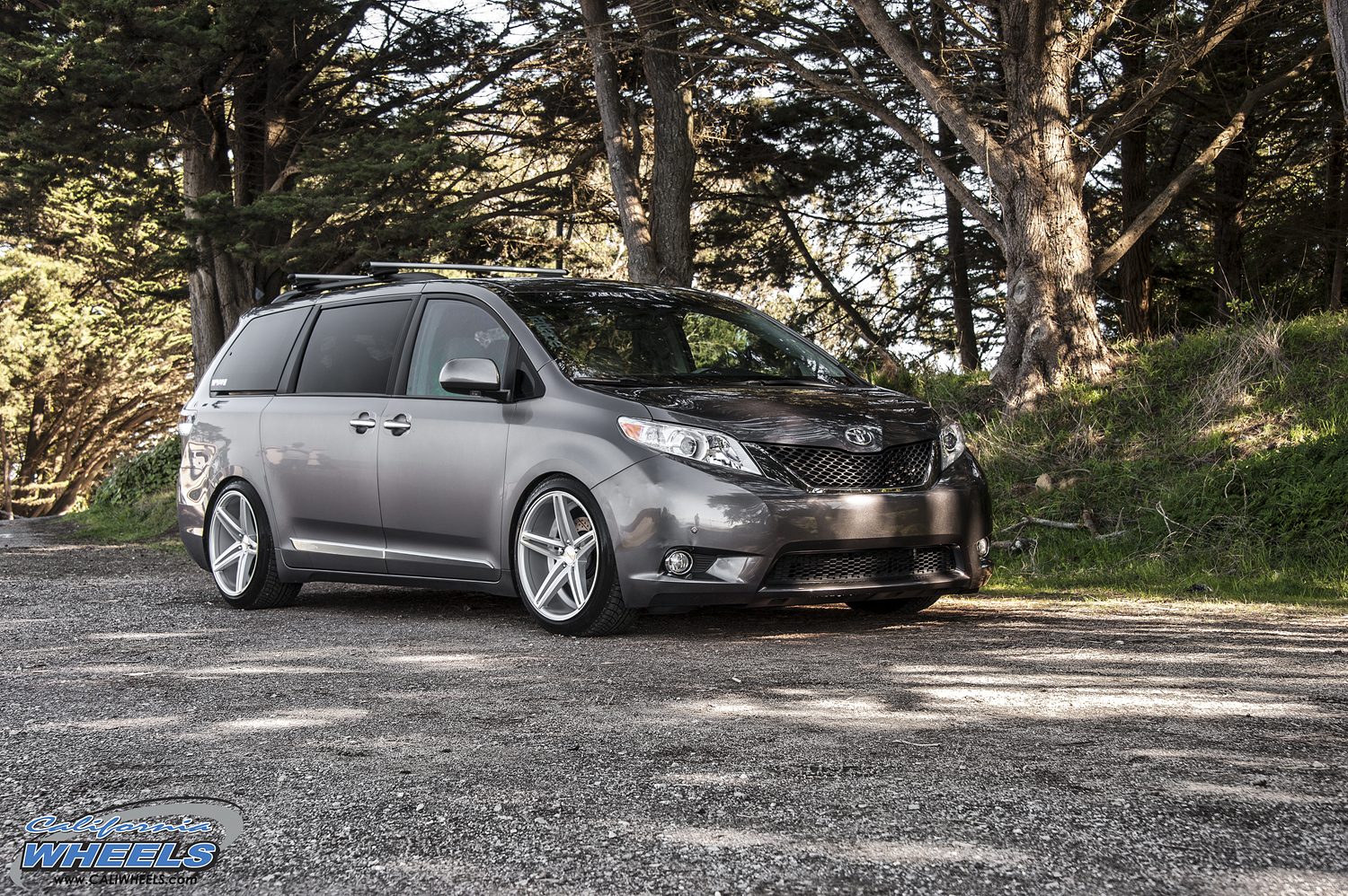 Car Toyota Sienna On Vossen Cv5 Wheels California Wheels