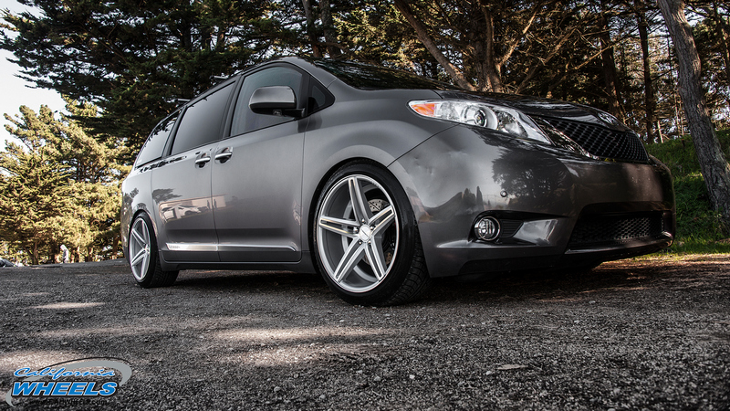 Mercedes San Jose >> Car | Toyota Sienna on Vossen CV5 Wheels | California Wheels
