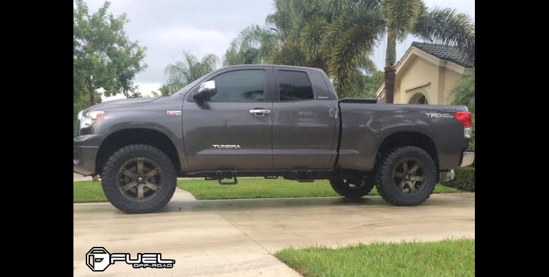 Lifted F150 2017 >> Car | Toyota Tundra on Fuel 1-Piece Beast - D564 Wheels | California Wheels