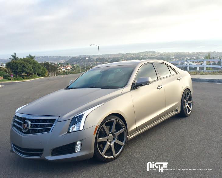 Car | Cadillac ATS on Niche Sport Series Verona - M149 Wheels ...