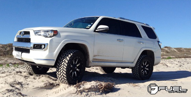 Toyota 4Runner Aftermarket Accessories >> Car | Toyota 4Runner on Fuel 1-Piece Nutz - D541 Wheels ...