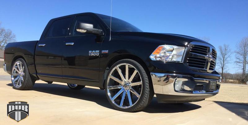 Car | Dodge Ram 1500 on DUB 1-Piece Shot Calla - S120 ...