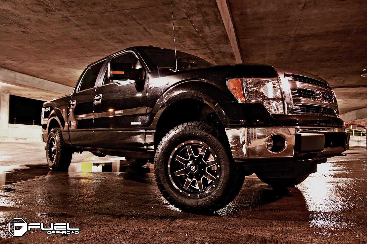 Car Ford F  On Fuel  Piece Maverick D Wheels California Wheels