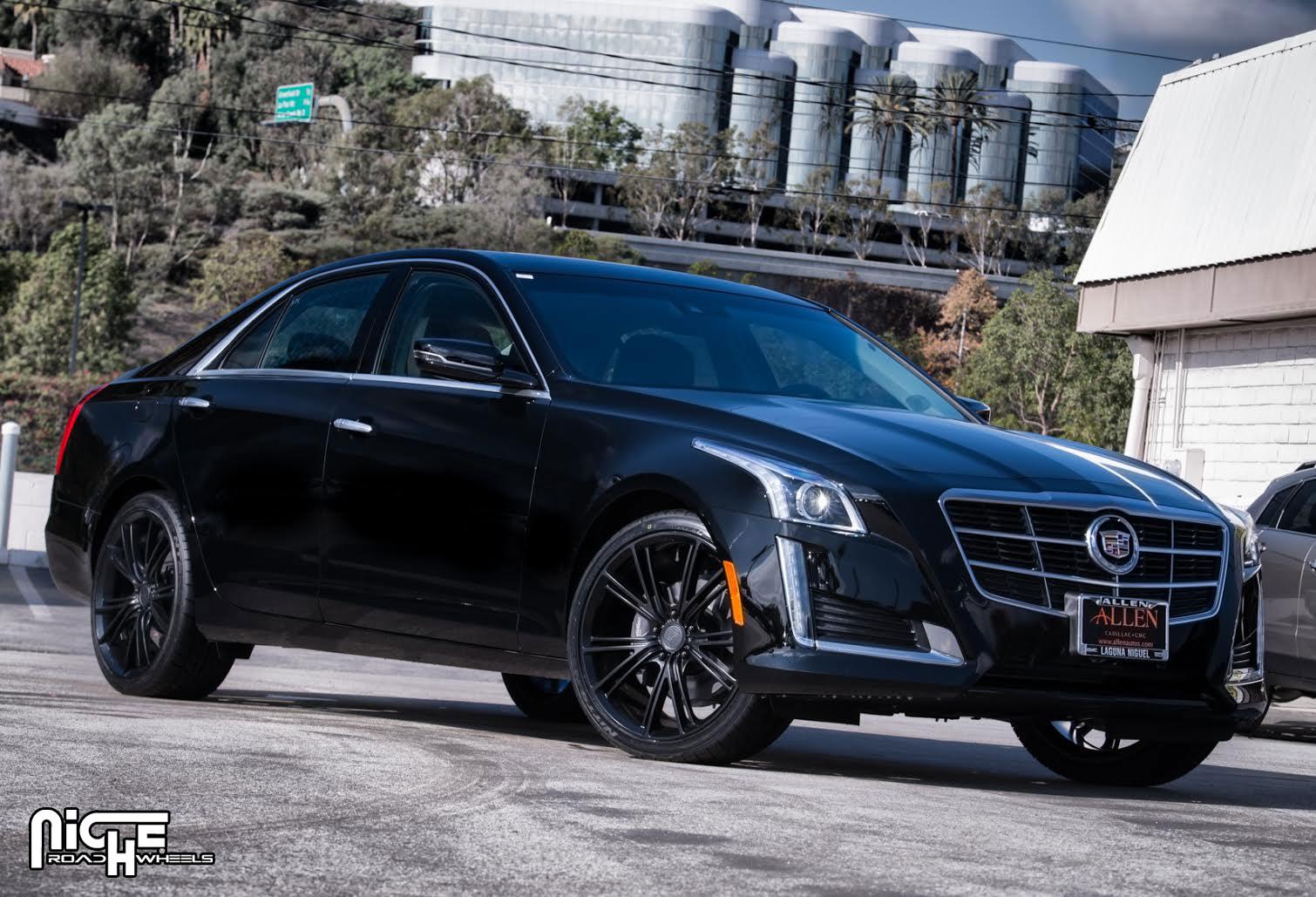 Car Cadillac Cts On Niche Sport Series Ritz M144