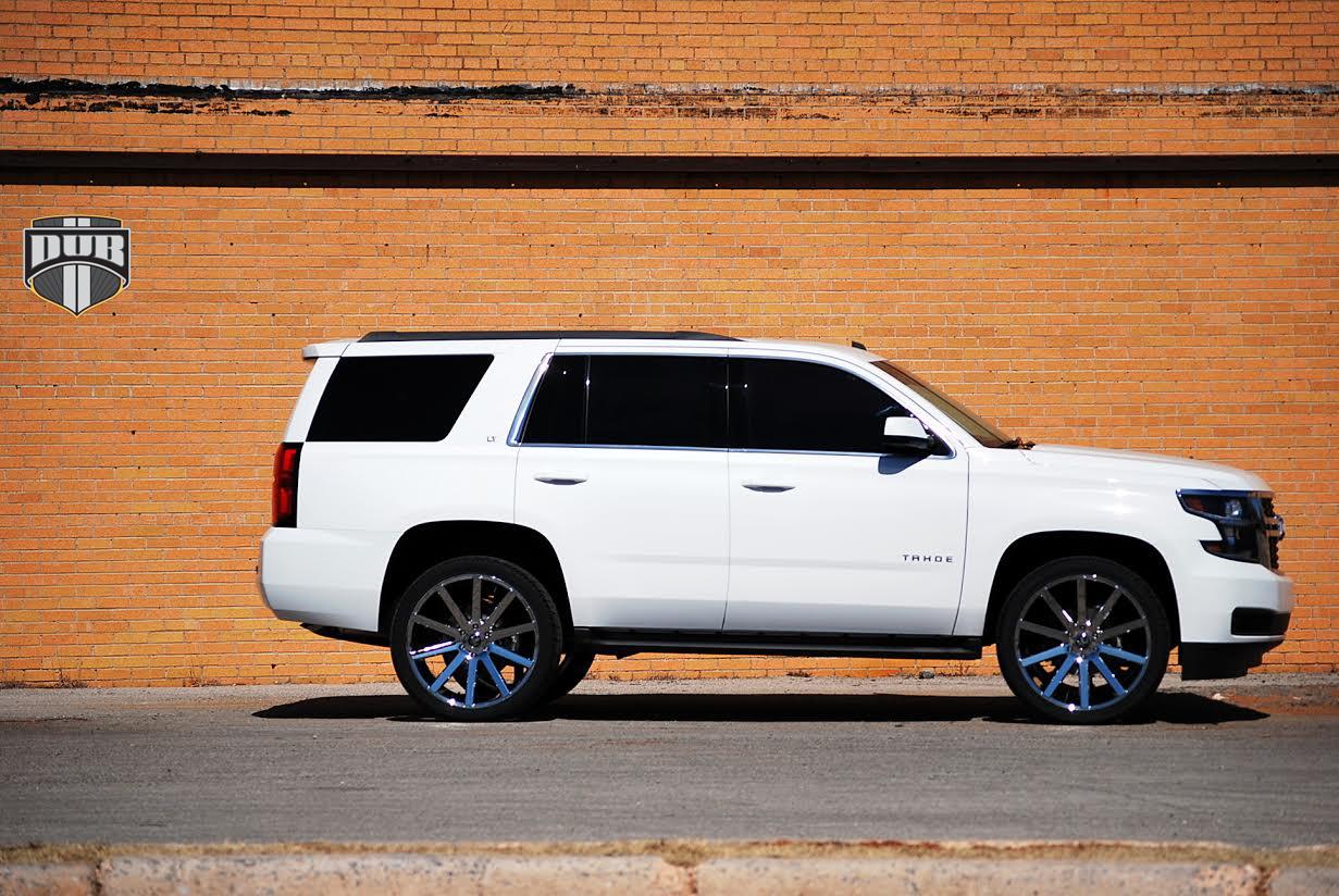 Car | Chevrolet Tahoe on DUB 1-Piece Shot Calla - S120 ...