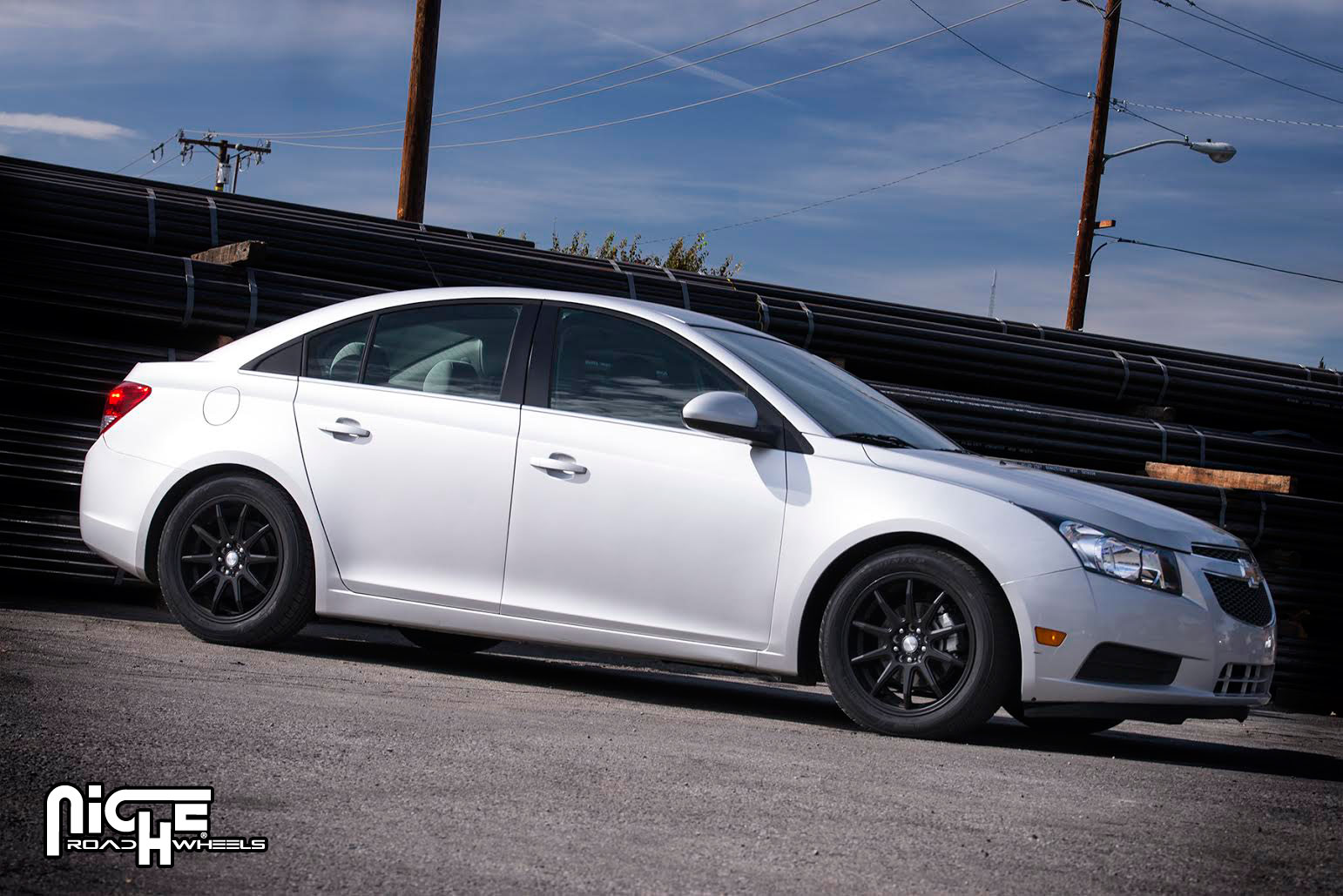 2012 Chevy Cruze Tire Size >> Car Chevrolet Cruze On Niche Racing Series Nr10 M122 Wheels