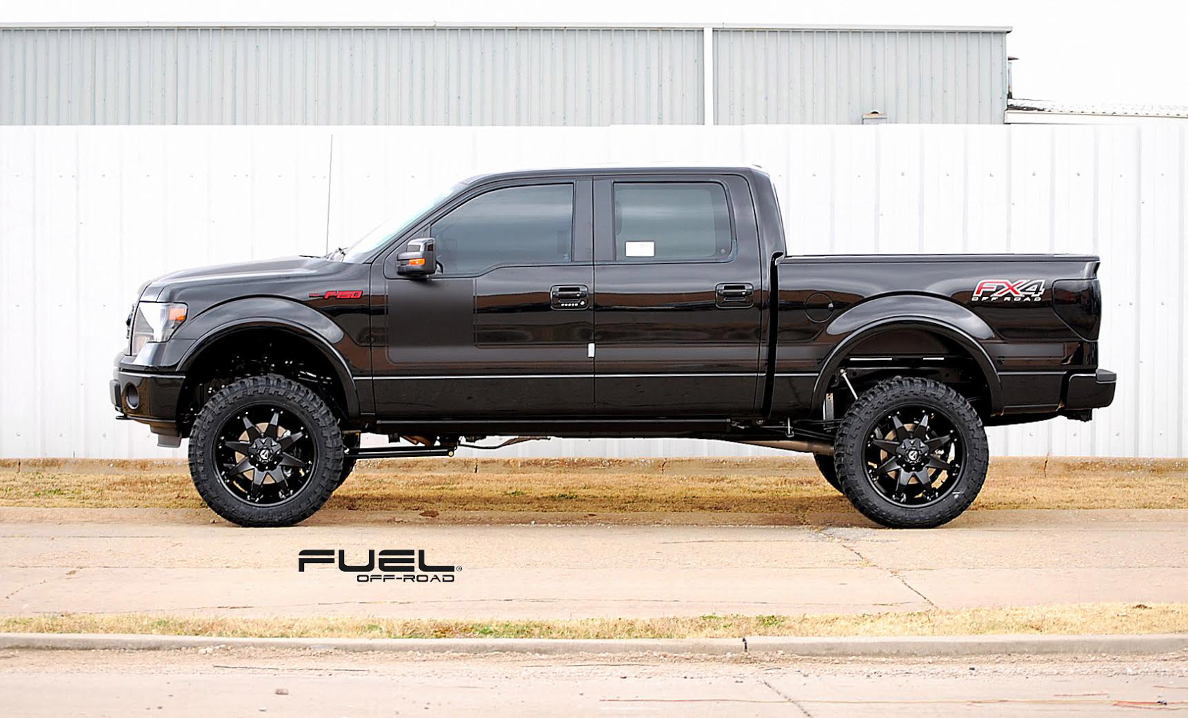 Car Ford F 150 On Fuel Deep Lip Octane D509 Wheels California Toyota Tacoma Long Bed Hostage