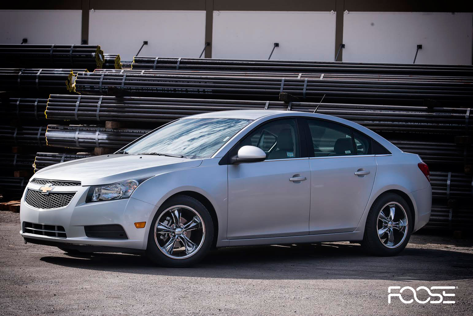 Chevrolet Cruze Tuning >> Car | Chevrolet Cruze on Foose Legend (PVD) - F103 Wheels ...